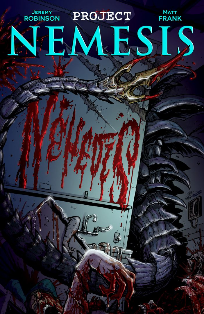 Project Nemesis #2 preview page cover