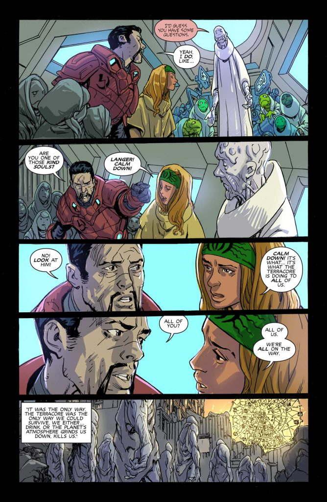 bornhome #4 preview pages 1