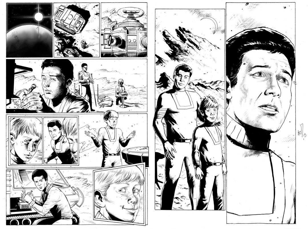 lost in space inks to color pantoulas