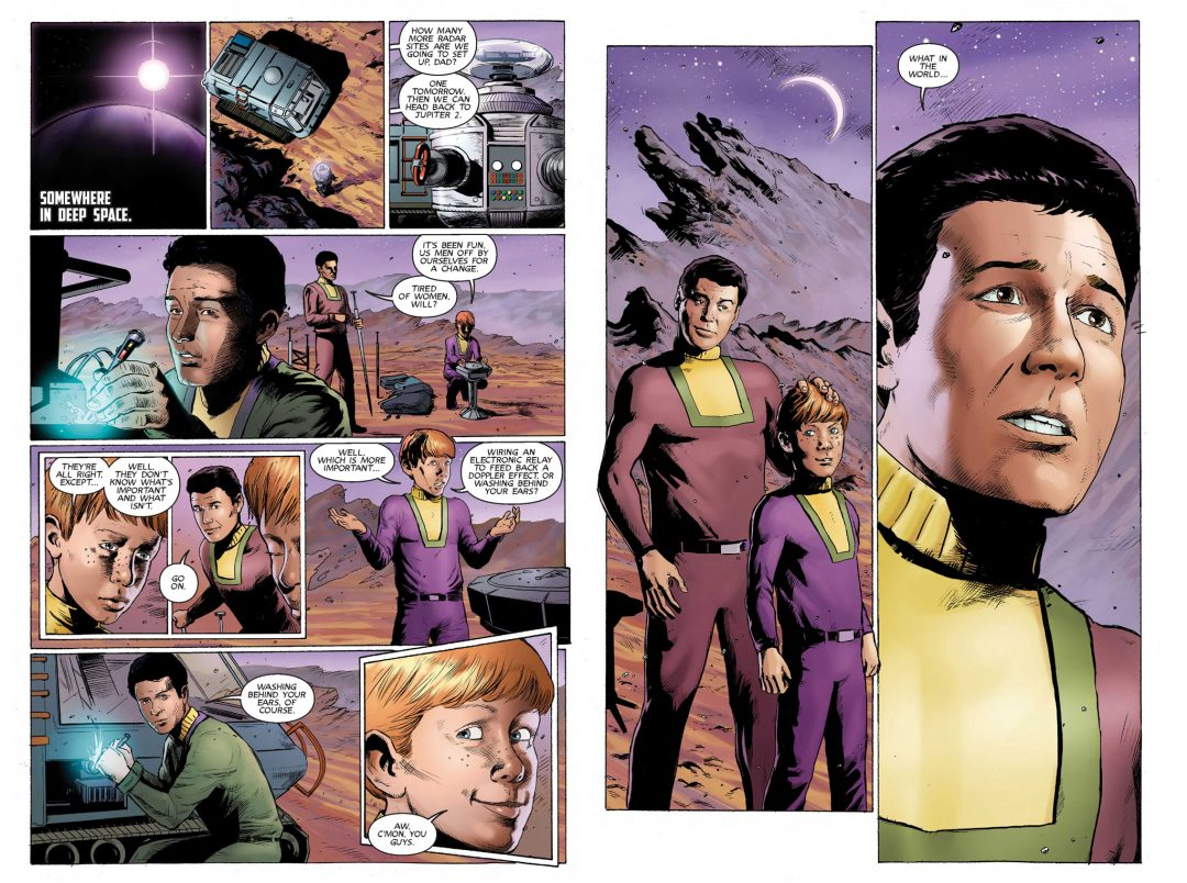 lost in space inks to color mcevoy