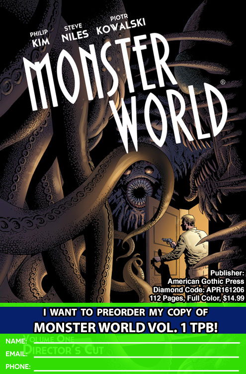 Preorder Forms For MONSTER WORLD