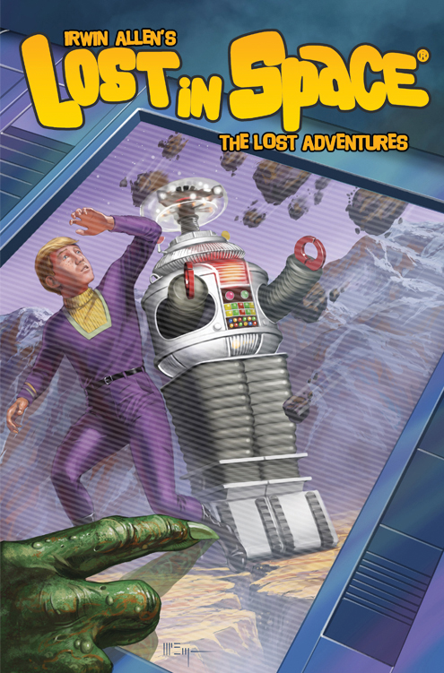 comics coming out in april lost in space