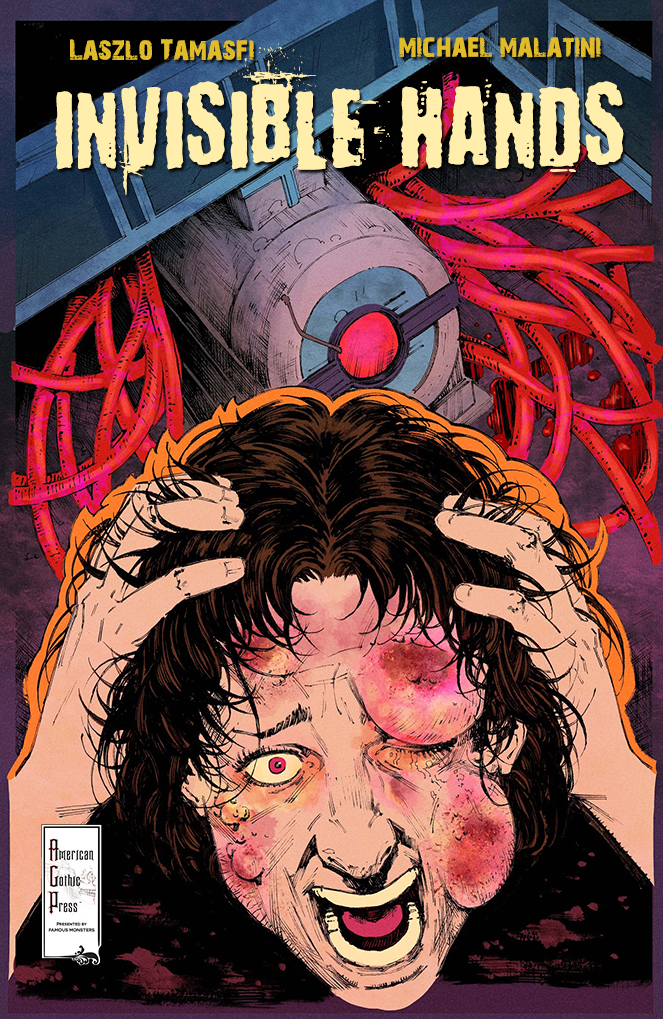invisible hands comic issue cover